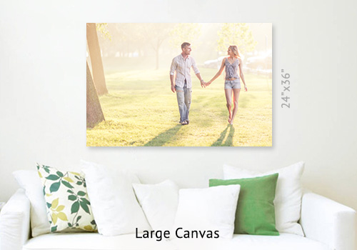 Large 24x36 Gallery Wrap Canvas